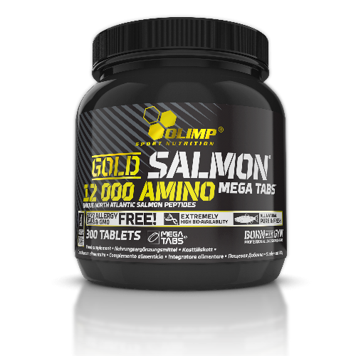 Olimp - Gold Salmon 12000 Mega Tabs, 300 Tabletten