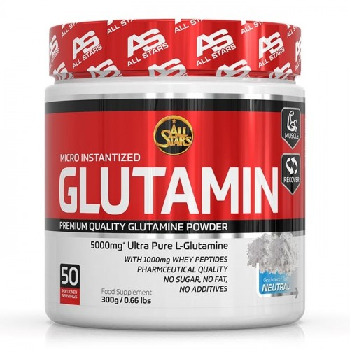 All Stars - Glutamin Powder, 300g Dose