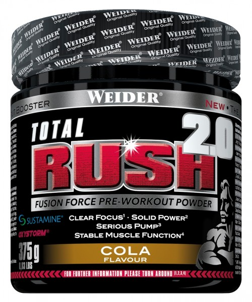 Weider - Total Rush 2.0, 375g Dose