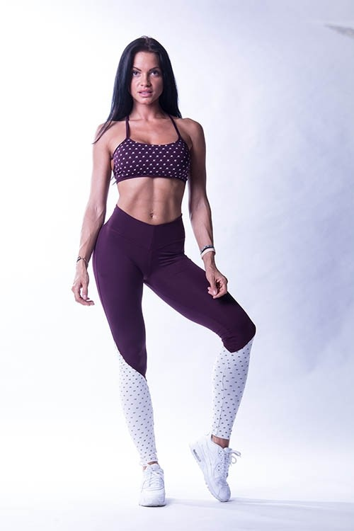 Nebbia - High Waist N's Leggings 638 Burgund