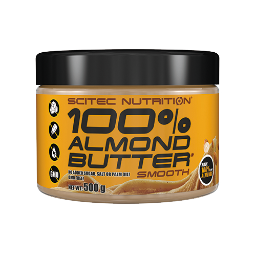 Scitec Nutrition - 100% Almond Butter*, 500g Dose