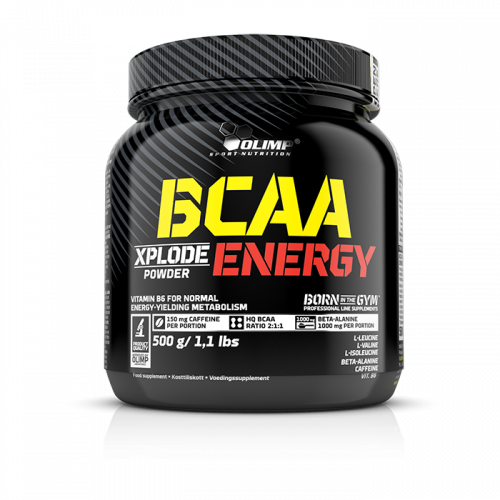 Olimp - BCAA Xplode Powder Energy, 500g Dose