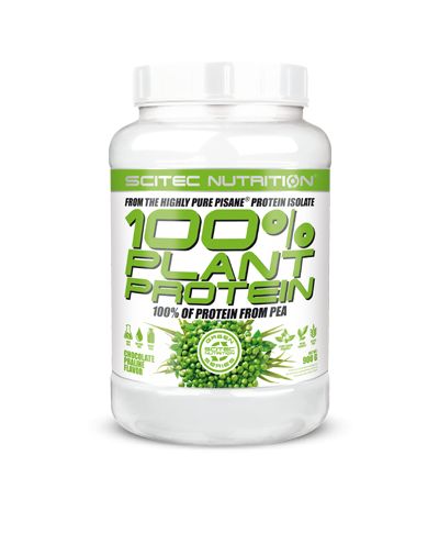 Scitec Nutrition - 100% Plant Protein, 900g Dose