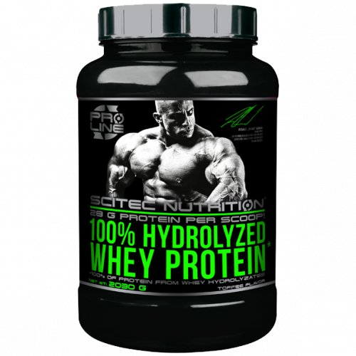 Scitec Nutrition - 100% Hydrolyzed Whey Protein*, 2030g Dose