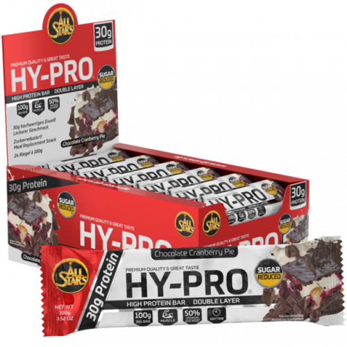All Stars - Hy-Pro Bar, 24x100g Riegel