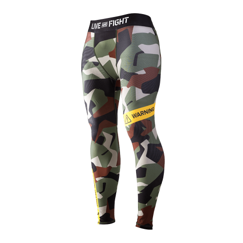 Olimp - Leggings, Men Camo Classic