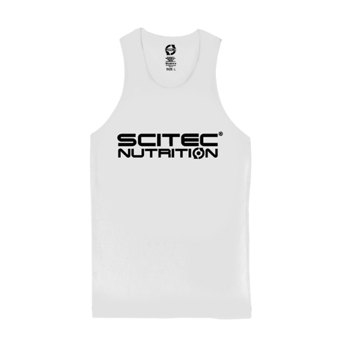 Scitec Nutrition - Tank Top - Normal White