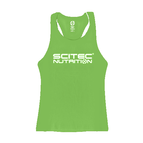 Scitec Nutrition - Tank Top - Racerback Green Girl