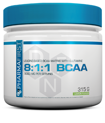 Pharma First - BCAA 8:1:1, 315g Dose