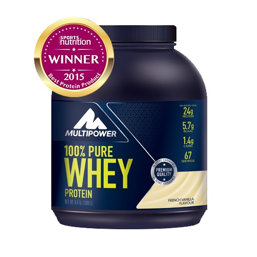 Multipower - 100% Pure Whey Protein, 2000g Dose