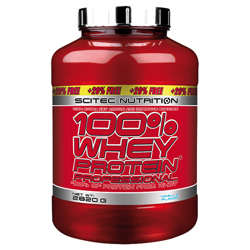 Scitec Nutrition - 100% Whey Protein Professional, 2820g Dose - AKTION!