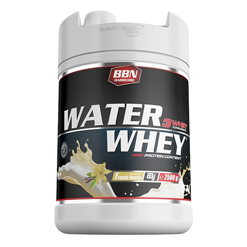 BBN Hardcore - Water Whey Protein, 2500g Dose