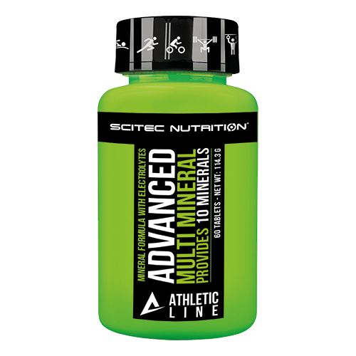 Scitec Nutrition - Athletic Line - Advanced Multi Mineral, 60 Tabletten