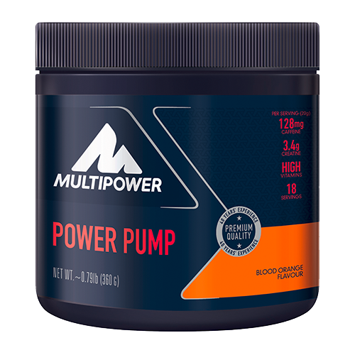 Multipower - Pump Booster, 360g Dose - Orange