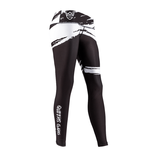 Olimp - Leggings, Women Schwarz-Weiß