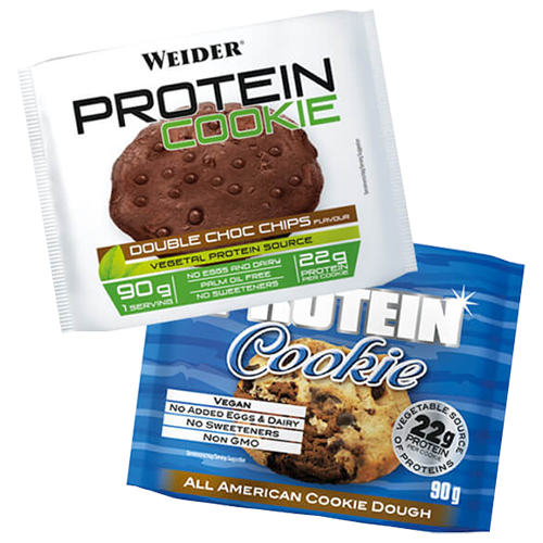 Weider - Protein Cookie, 12 Cookies a 90g