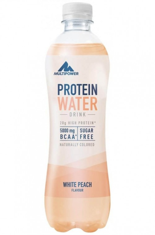 Multipower - Protein Water, 12x500ml Flaschen (inkl. 6 EUR Pfand)