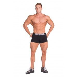 Nebbia - Exclusive Men's Boxer Shorts 101 schwarz