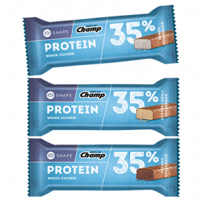 Champ - Protein Bar 35%, 24 Riegel a 35g