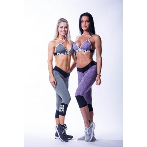 Nebbia -  High Waist 3/4 Leggings 607