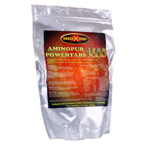 Hansa X Sport - AminoPur Powertabs 1600, 600 Tabletten