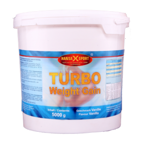 Hansa X Sport - Turbo Weight Gainer, 5000g Eimer