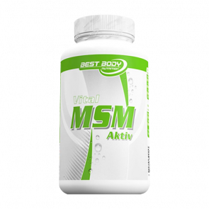 Best Body Nutrition - Vital MSM Activ, 175 Kapseln