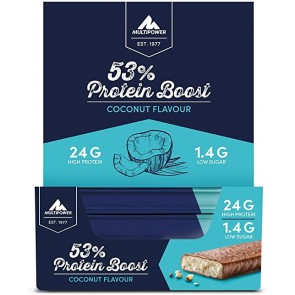 Multipower - 53% Protein Boost, 20 Riegel a 45g