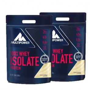 Multipower - 100% Whey Isolate Protein, 1590g Beutel