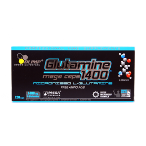 Olimp - L-Glutamin Mega Caps, 120 Stk.