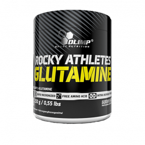 Olimp - Rocky Athletes Glutamine, 250g Dose