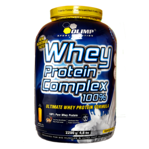 Olimp - Whey Protein Complex 100%, 2200g Dose
