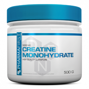Pharma First - Creatine Monohydrate, 500g Dose