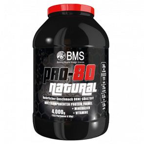 BMS - Pro 80 Natural, 4000g Dose