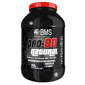 BMS - Pro 80 Natural, 750g Dose
