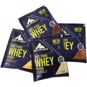 Multipower - 100% Pure Whey Protein, 50g Sachets