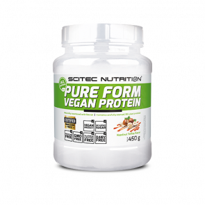 Scitec Nutrition - Pure Form Vegan Protein, 450g Dose