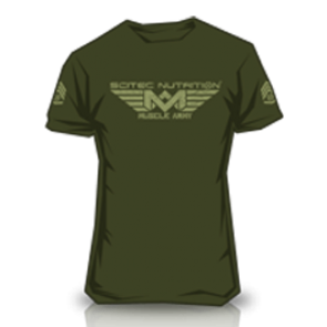 Scitec Nutrition - T-Shirt - Muscle Army Woodland