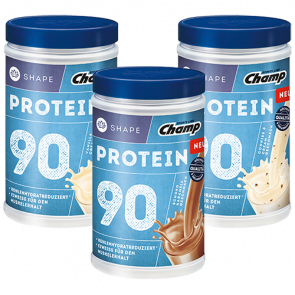 Champ - Shape Protein 90 Shake, 390g Dose-Vanille