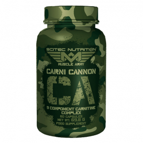 Scitec Nutrition - Muscle Army - Carni Cannon, 60 Kapseln