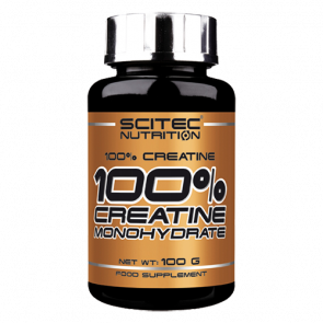Scitec Nutrition - 100% Creatine, 100g Dose