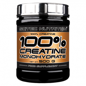 Scitec Nutrition - 100% Creatine, 500g Dose