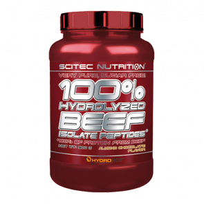 Scitec Nutrition - 100% Hydrolyzed Beef Isolate Peptides*, 900g Dose