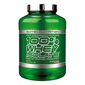 Scitec Nutrition - 100% Whey Isolate, 2000g Dose