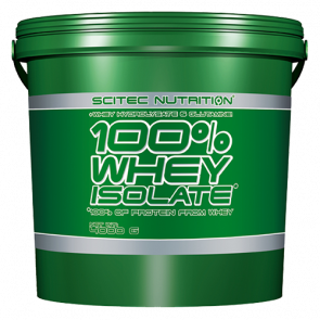 Scitec Nutrition - 100% Whey Isolate, 4000g Eimer