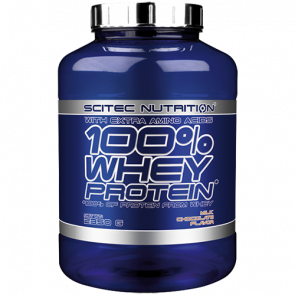 Scitec Nutrition - 100% Whey Protein, 2350g Dose