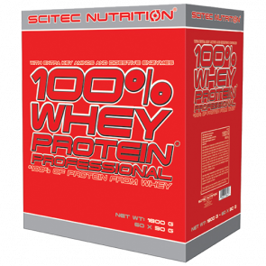 Scitec Nutrition - 100% Whey Protein Professional, 30x30g Portionsbeutel