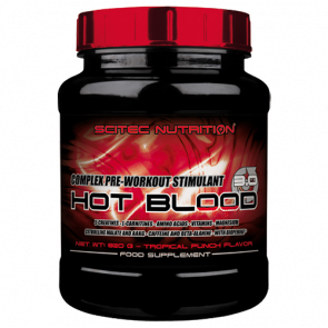 Scitec Nutrition - Hot Blood 3.0, 820g Dose