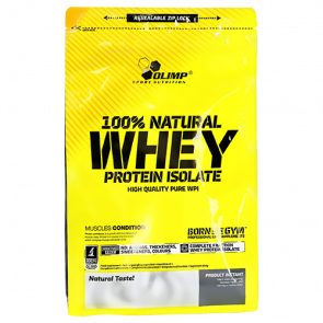 Olimp - 100% Natural Whey Protein Isolate, 600g Beutel