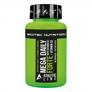 Scitec Nutrition - Athletic Line - Mega Daily Forte, 90 Kapseln